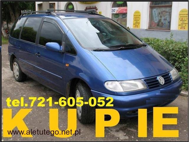Kupię VW Sharan 2.0 Benzyna LPG Każdy stan CAŁY KRAJ Skup - 1/1